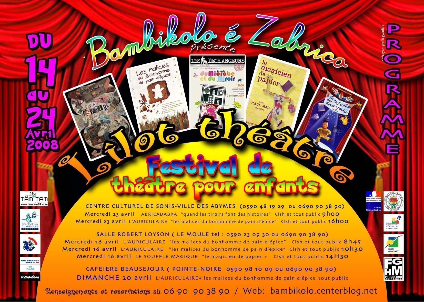 enfin du théâtre pour enfants en Guadeloupe!!!
